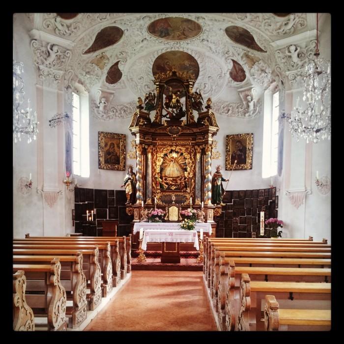 Wallfahrtskirche Maria Gern im Berchtesgadener Land