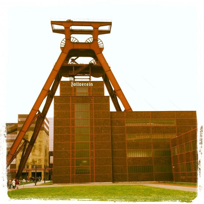 Weltkulturerbe Zeche Zollverein in Essen / NRW